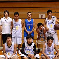 男子バスケ部